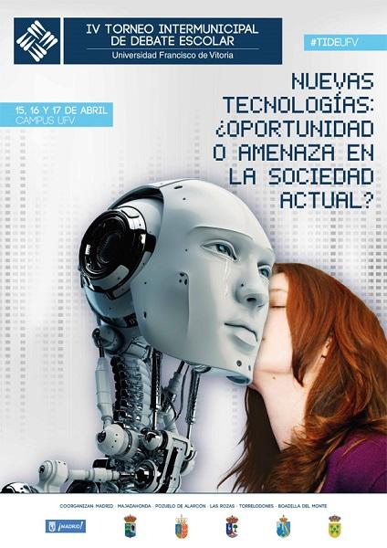 cartel TIDE IV 1 Casi medio centenar de colegios se darán cita en la IV edición del Torneo Intermunicipal de Debate Escolar UFV Estudiar en Universidad Privada Madrid