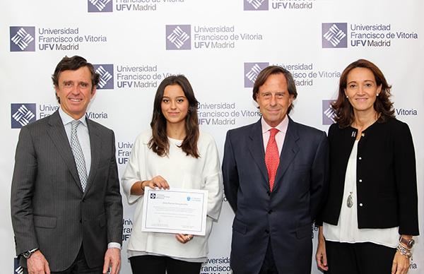 Beca1web La UFV y el Ayuntamiento de Alcobendas entregan una Beca de Excelencia Estudiar en Universidad Privada Madrid