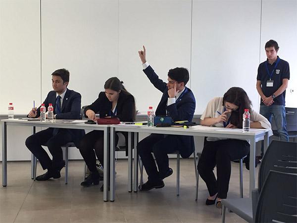 Sin título 131 La UFV llega a las semifinales en la XII edición del Torneo Nacional de Debate Estudiar en Universidad Privada Madrid