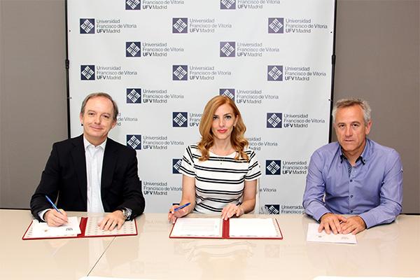 Sin título 1 8 La UFV firma un convenio con el Ayuntamiento de Hoyo de Manzanares