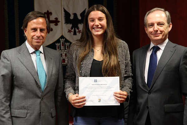 beca alcobendas Paola Albert, empadronada en Alcobendas, estudiará Biomedicina, becada por la Universidad Francisco de Vitoria