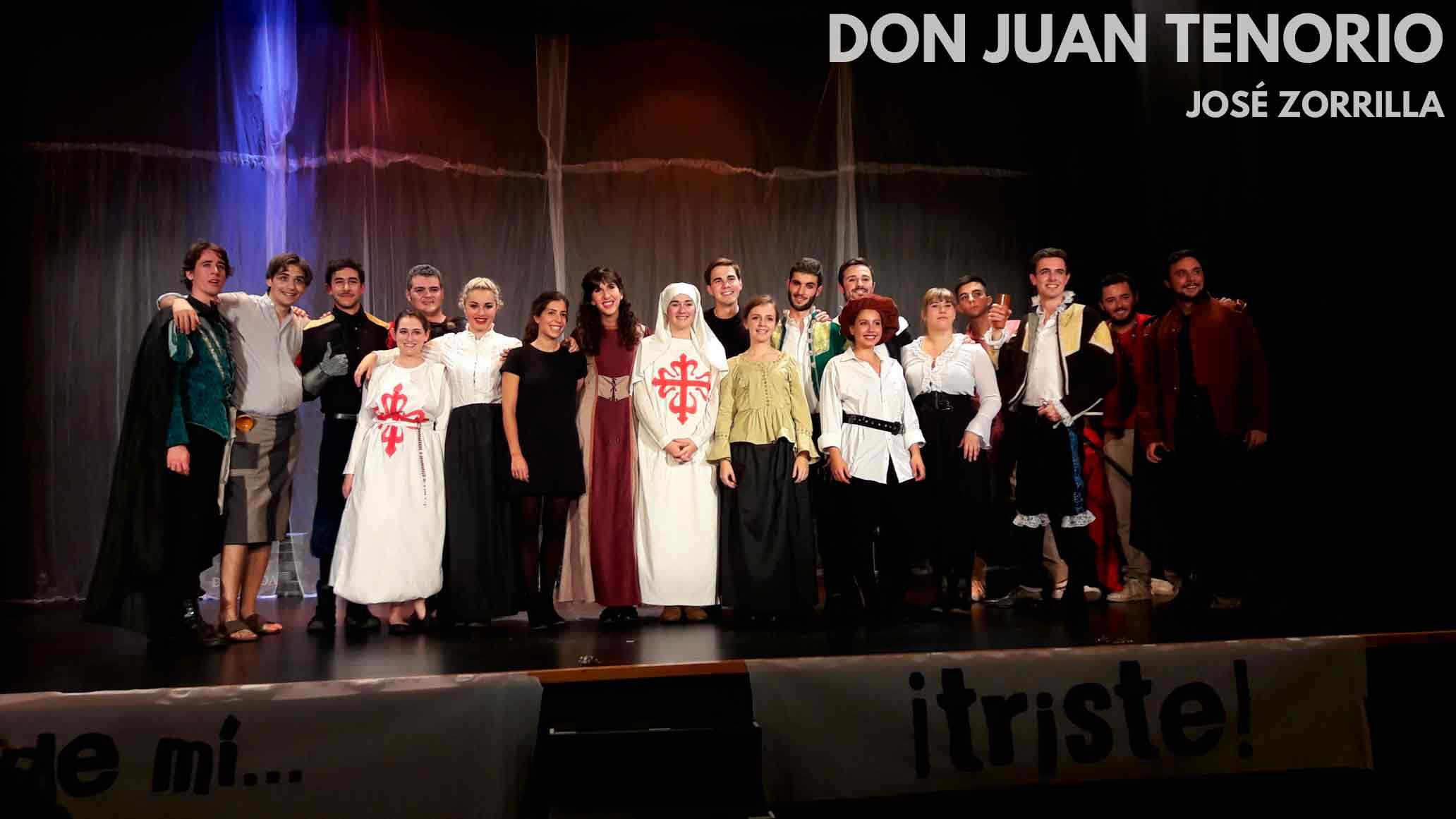 Don Juan Tenorio Grupo de Teatro Ay de mí...¡triste! Estudiar en Universidad Privada Madrid