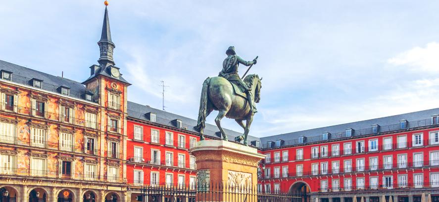 foto madrid plaza mayor Estudiar en Madrid Estudiar en Universidad Privada Madrid