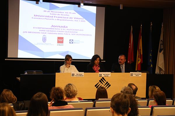 majadahonda La UFV celebra junto al Ayuntamiento de Majadahonda la jornada El emprendimiento y el autoempleo han venido para quedarse Estudiar en Universidad Privada Madrid