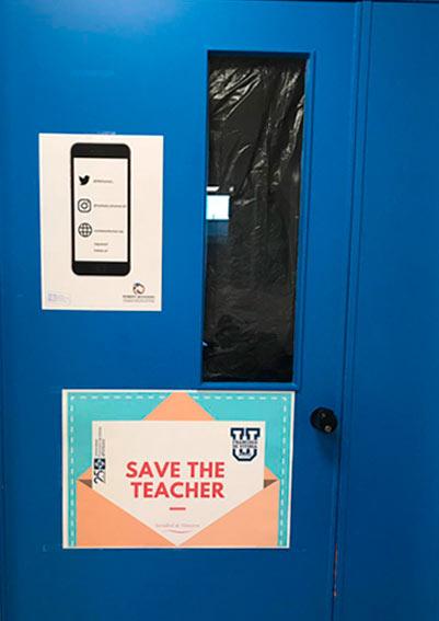 save the teacher 1 Sociedad de maestros Estudiar en Universidad Privada Madrid