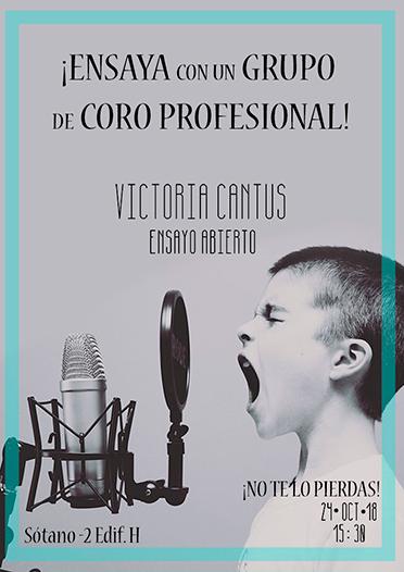 victoria cantus Coro UFV