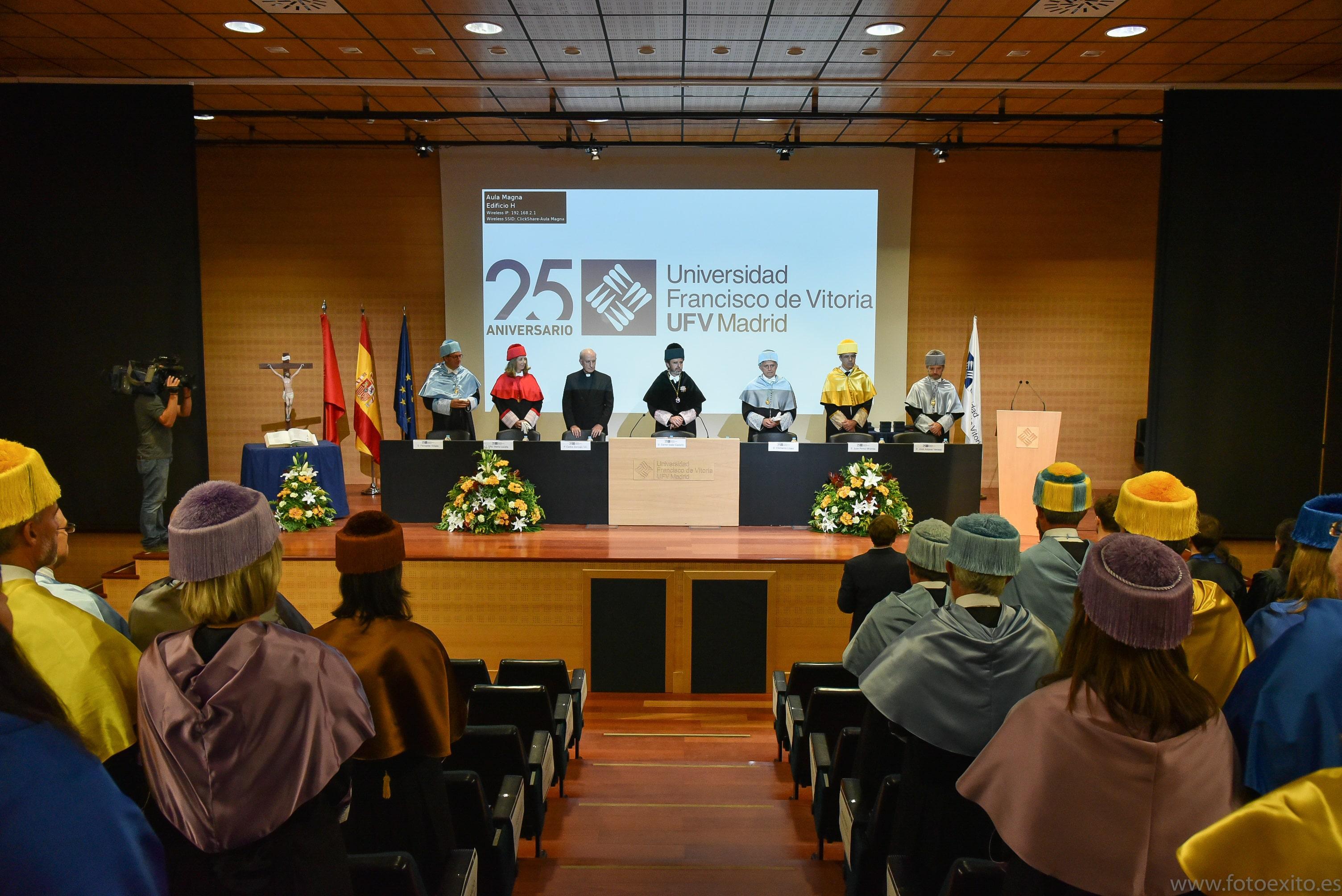 180928 UFV 233 min Actos académicos curso 2018/2019 Estudiar en Universidad Privada Madrid