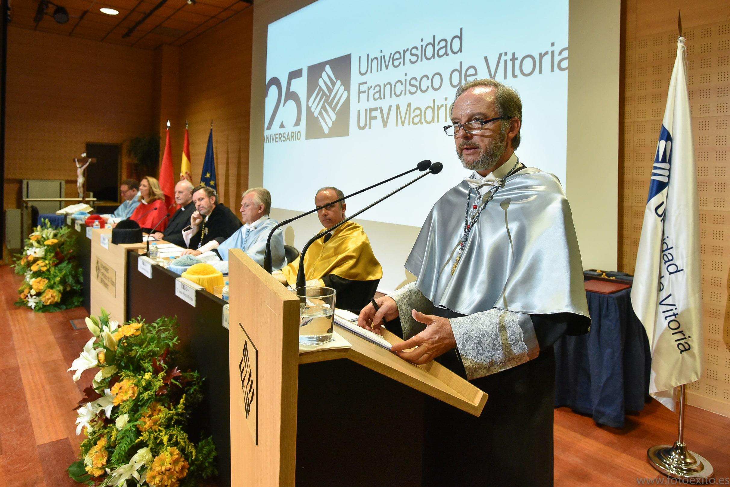 180928 UFV 261 min Actos académicos curso 2018/2019 Estudiar en Universidad Privada Madrid