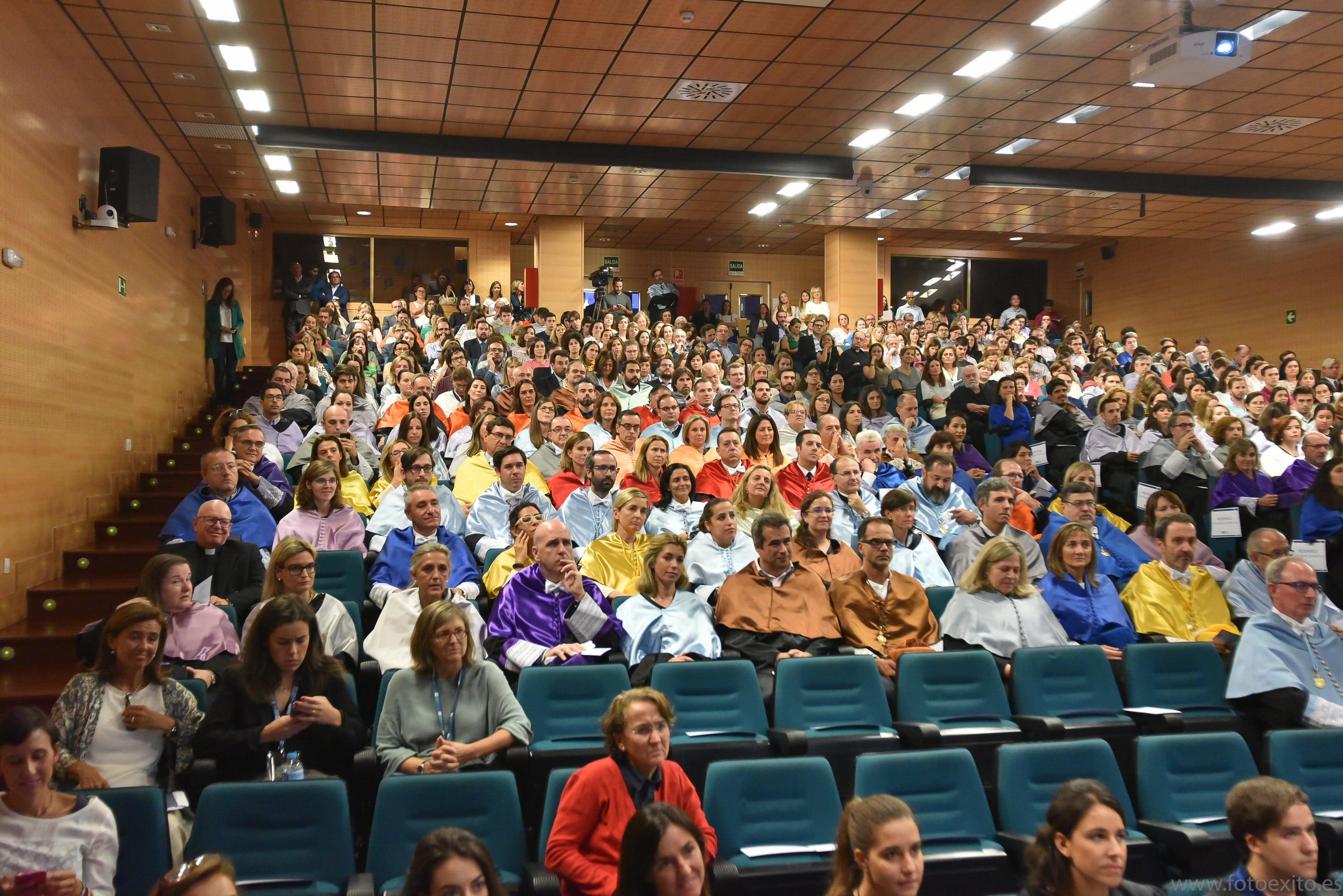 180928 UFV 269 min Actos académicos curso 2018/2019 Estudiar en Universidad Privada Madrid