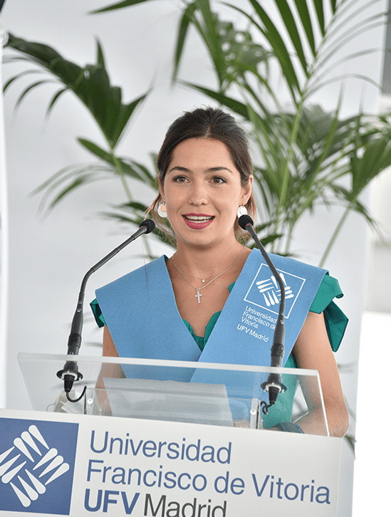 Andrea Bravo Zabalza.JPG min Actos académicos Estudiar en Universidad Privada Madrid