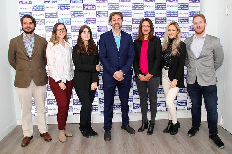 IIB Grupo Tumores cerebrales UFV Laboratorio de Investigación en tumores cerebrales Estudiar en Universidad Privada Madrid