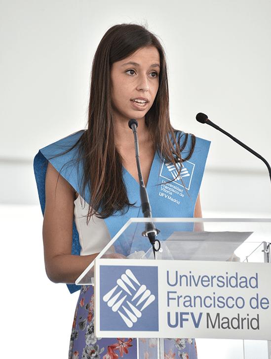 Ines Martin Cruz.JPG min Actos académicos Estudiar en Universidad Privada Madrid