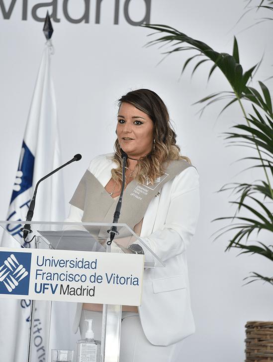 Laura Morcillo.JPG min Actos académicos Estudiar en Universidad Privada Madrid
