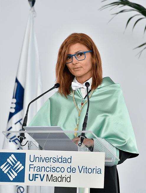 Nuria Mendoza min Actos académicos Estudiar en Universidad Privada Madrid