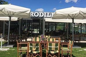 Rodilla UFV terraza En tus cafeterías Estudiar en Universidad Privada Madrid