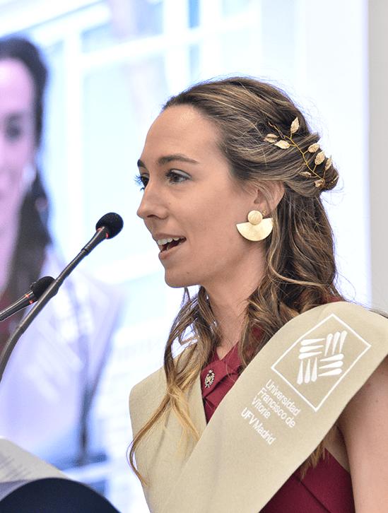 Ruth Calderon Sanz.JPG min Actos académicos Estudiar en Universidad Privada Madrid