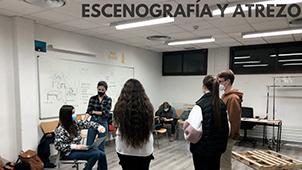 Teatro escenografia 2 Grupo de Teatro Ay de mí...¡triste! Estudiar en Universidad Privada Madrid