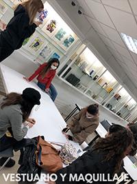Teatro vestuario maquillaje 2 Grupo de Teatro Ay de mí...¡triste! Estudiar en Universidad Privada Madrid