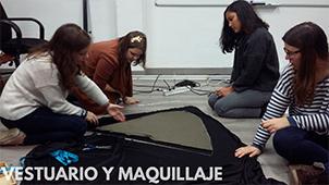 Teatro vestuario maquillaje 3 Grupo de Teatro Ay de mí...¡triste! Estudiar en Universidad Privada Madrid