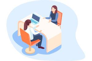 atencion individual Gabinete de orientación educativa GOE Estudiar en Universidad Privada Madrid