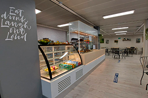 barra the garden cafeteria edificio M UFV En tus cafeterías Estudiar en Universidad Privada Madrid