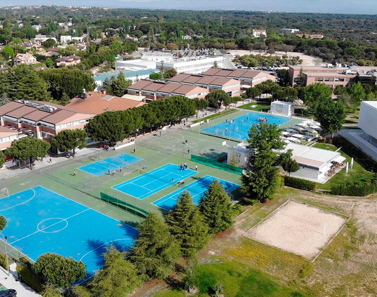 campus ufv vista panoramica Universidades Privadas Madrid Estudiar en Universidad Privada Madrid