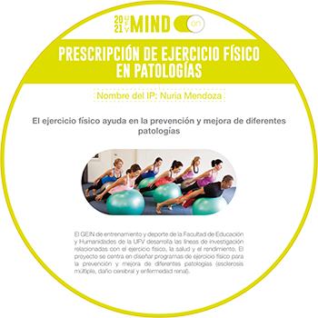 cc salud prescripcion ejercicio fisico en patologias Mind on Estudiar en Universidad Privada Madrid