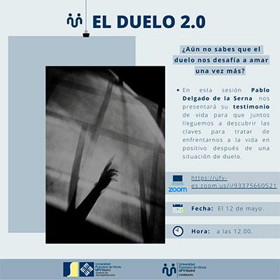 charla el duelo mayo miniatura Uno más uno Estudiar en Universidad Privada Madrid