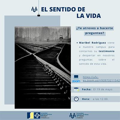 charla el sentido de la vida miniatura Uno más uno Estudiar en Universidad Privada Madrid