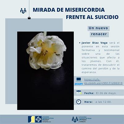 charla mayo mirada misericordia miniatura Uno más uno Estudiar en Universidad Privada Madrid