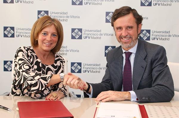 collado mediano La UFV firma un acuerdo con el Ayuntamiento de Collado Mediano