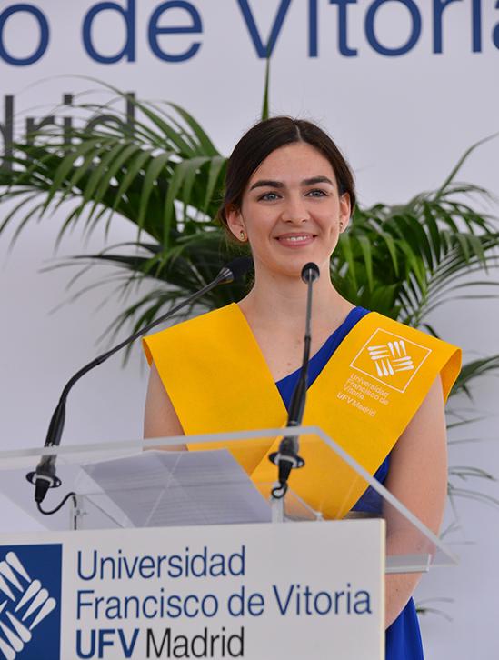 cristina rasines ufv Actos académicos Estudiar en Universidad Privada Madrid
