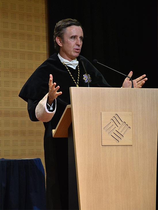 daniel sada rector ufv acto 2019 2020 Actos académicos curso 2019/2020 Estudiar en Universidad Privada Madrid