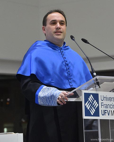 discurso hector peinado ufv Actos académicos curso 2019/2020 Estudiar en Universidad Privada Madrid