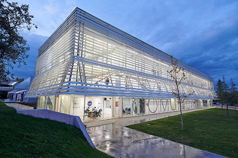edificio de comunicacion sobre ufv Sobre la UFV Estudiar en Universidad Privada Madrid
