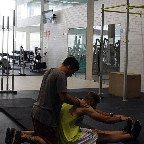 fisio instalaciones 2 Diplome kinesitherapie Madrid Estudiar en Universidad Privada Madrid