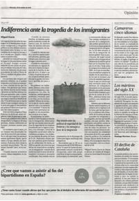 foto periodico Cátedra de Inmigración