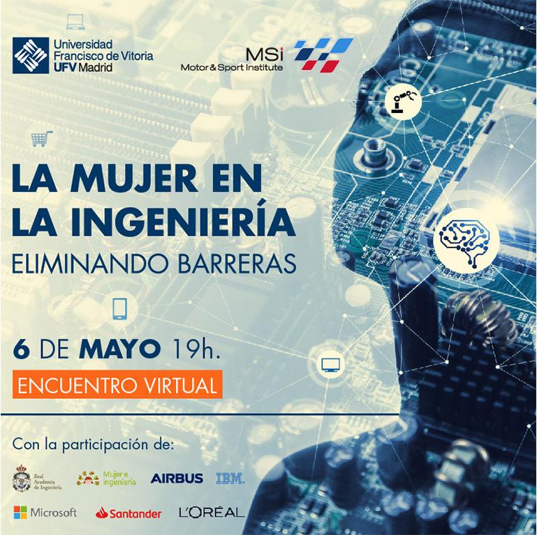 imagen mujeres en la ingenieria post ufv La mujer en la Ingeniería Estudiar en Universidad Privada Madrid
