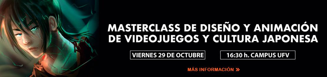 masterclass videojuegos ufv Creación y Narración de Videojuegos Estudiar en Universidad Privada Madrid