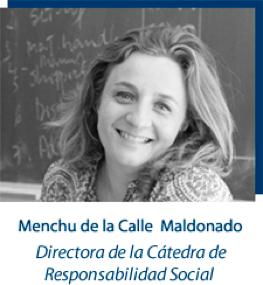 menchu Cátedra Santander de Resp.Social Estudiar en Universidad Privada Madrid