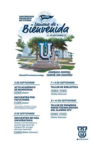 programa semana de bienvenida 21s Semana de Bienvenida Estudiar en Universidad Privada Madrid