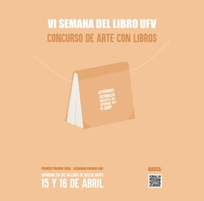 semana del libro arte con libros ufv Concursos Estudiar en Universidad Privada Madrid