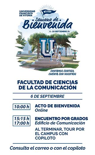 storie comunicacion21 Semana de Bienvenida Estudiar en Universidad Privada Madrid