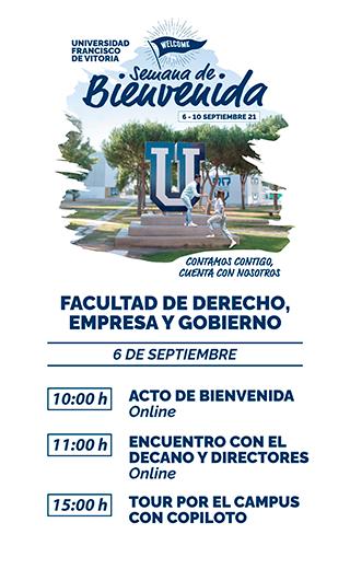 storie derecho21 Semana de Bienvenida Estudiar en Universidad Privada Madrid
