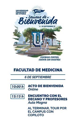 storie medicina21 Semana de Bienvenida Estudiar en Universidad Privada Madrid