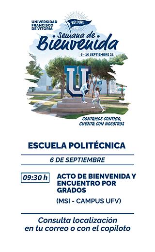 storie politecnica21 Semana de Bienvenida Estudiar en Universidad Privada Madrid