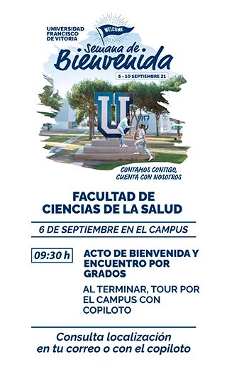 storie salud21 Semana de Bienvenida Estudiar en Universidad Privada Madrid