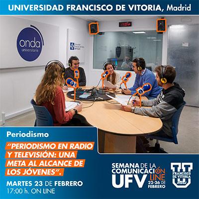 taller periodismo semana comunicacion 21 miniatura Periodismo Estudiar en Universidad Privada Madrid