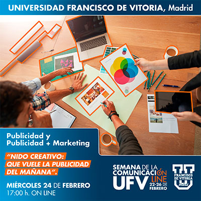 taller publicidad semana comunicacion miniatura 21 Publicidad y Publicidad + Marketing Estudiar en Universidad Privada Madrid