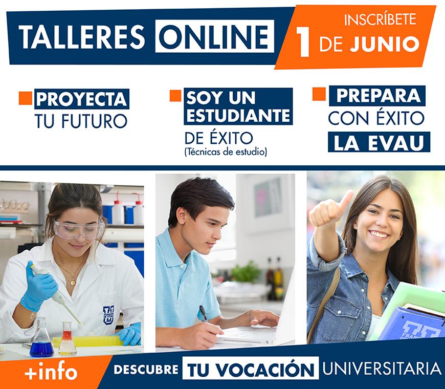 talleres orientacion online ufv 1 junio Orientación universitaria